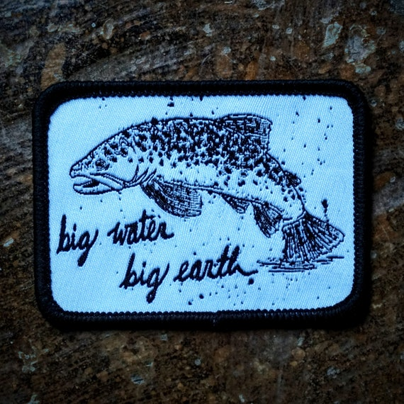 Big Water Big Earth Woven Patch