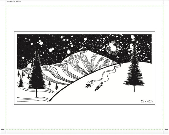 Mt. Millicent Print - 11x14 - Limited Edition