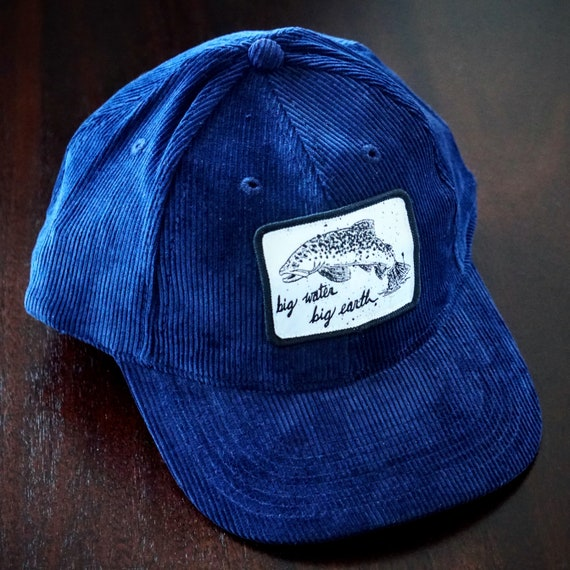Big Water Big Earth Strapback Corduroy Cap