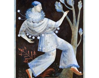 Pierrot / Commedia dell'arte Print