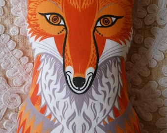 Felix  the Fox - Teatowel or DIY kit by Sarah Young
