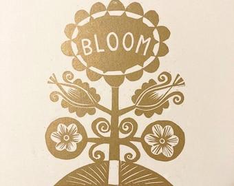 Bloom - Flower Power Print