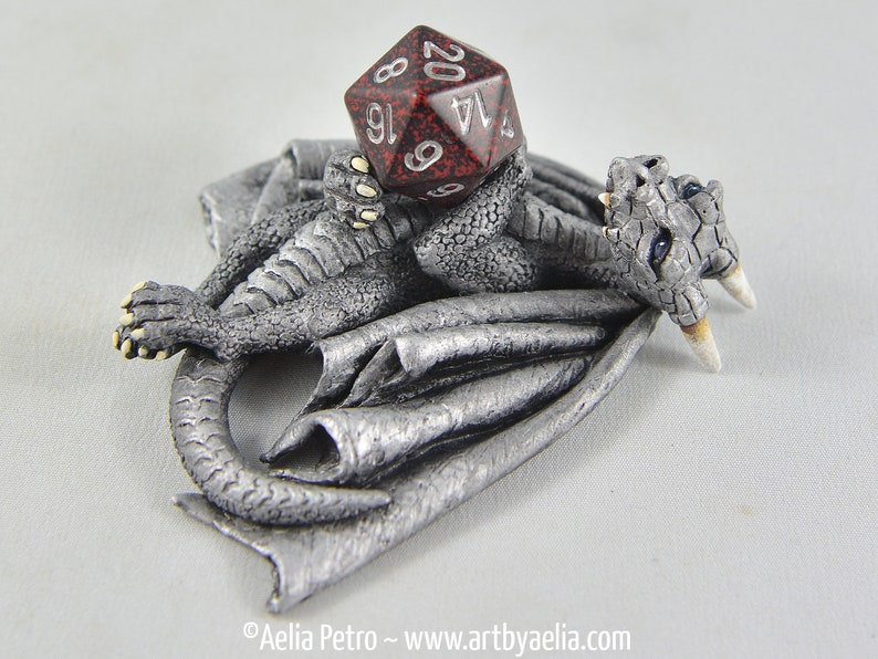 Hand Cast Dragon Dice