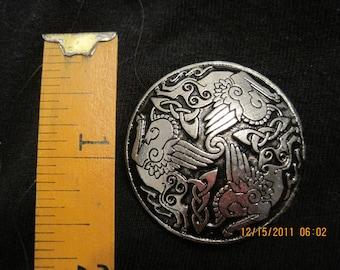 Medium Broach With Celtic Pegasus
