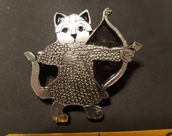 Celtic Archer Cat