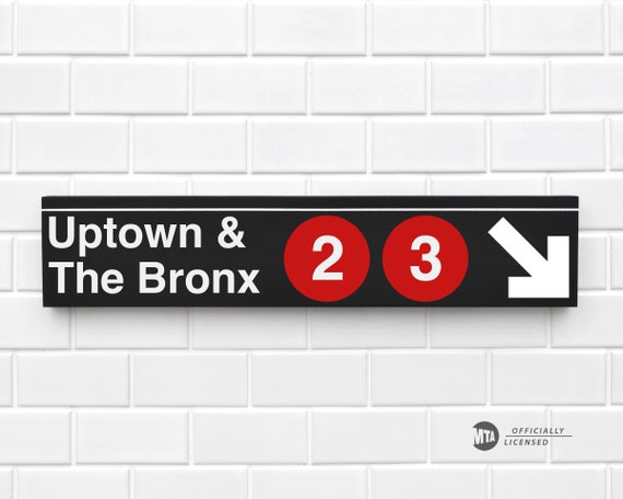 New York City MTA Station Replica Souvenir Gift Chinatown NYC Subway Sign