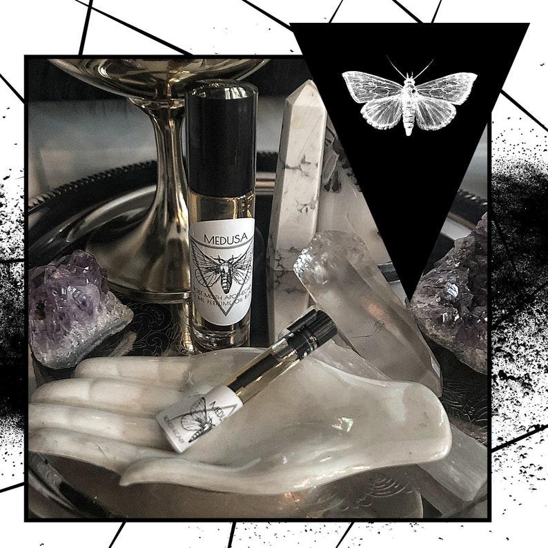MEDUSA  Handmade Perfume Oil Blend  Gothic Fragrance Oil  image 0