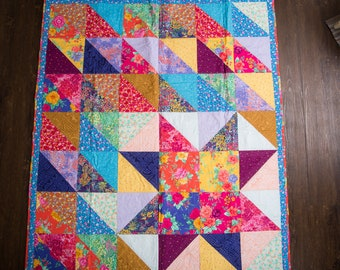 Quilted Wall Hanging or Lap Quilt