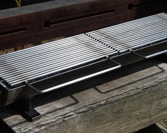 836 Hibachi Grill w/ Split Carbon Steel Top- First addition