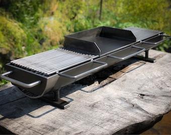The NEW 836 3-Top Hibachi Grill