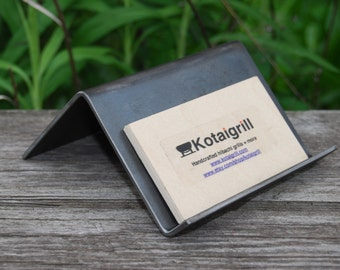 Steel Business Card Holder- Smooth
