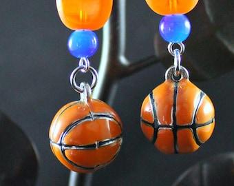 SU Basketball Earrings