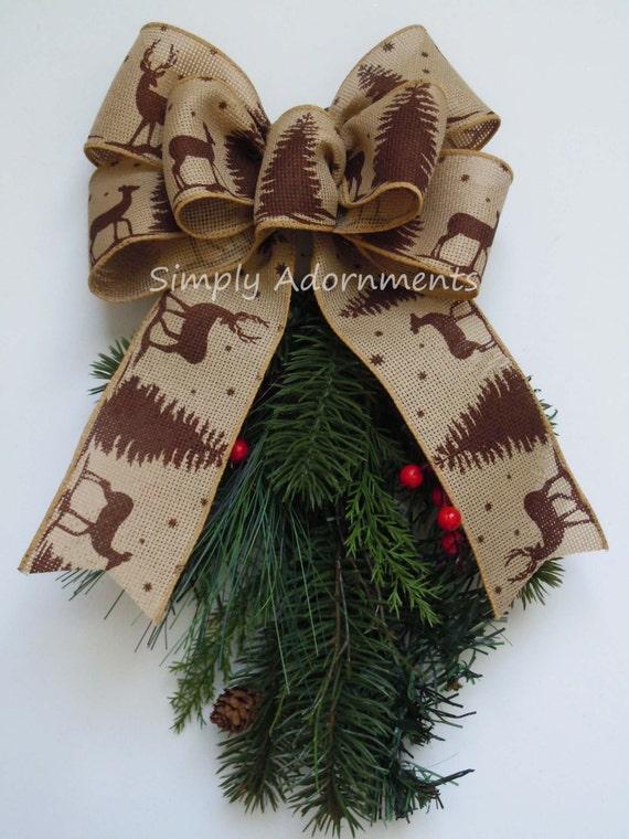 il_570xn - Burlap Christmas Garland