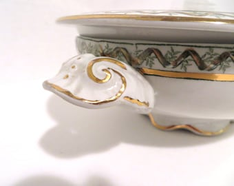 English China Covered Dish for your Shabby Chic Mismatched China Collection