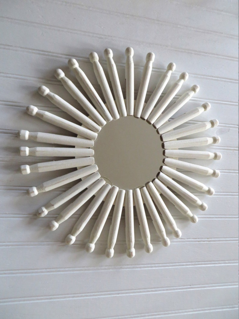 Sunburst or Starburst Mirror Country Farmhouse Cottage Granny image 0