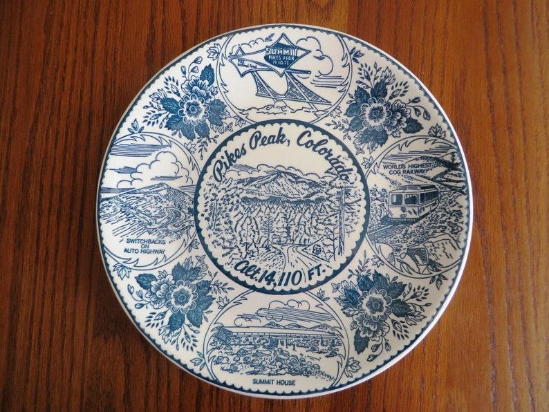 Pike's Peak Souvenir Plate image 0