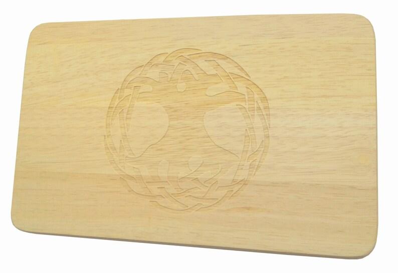 Breakfast board Tree of Life engraving Yggdrasil-Breakfast Board-engraving-Tree of Life