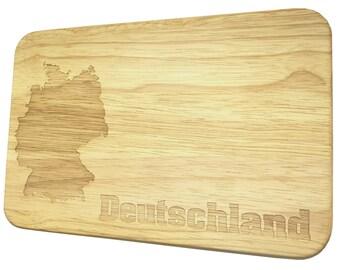 Brotbrett Germany Breakfast board with engraving-Breakfast board-engraving-Germany
