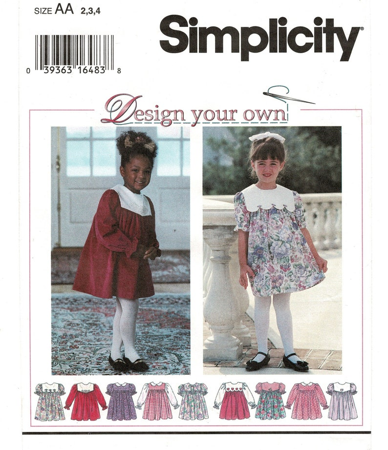 Toddler GIRLS Many SIMPLICITY Choose Your Pattern! UNCUT