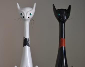 1950's Ceramic Cat Figurine