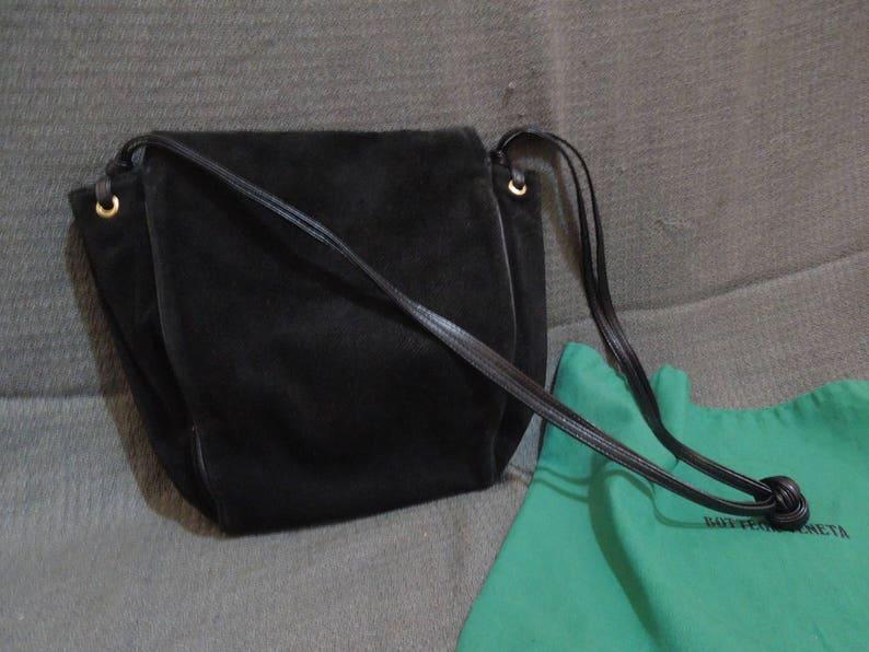 048a75d4f9 Authentic Vintage Bottega Veneta Suede handbag