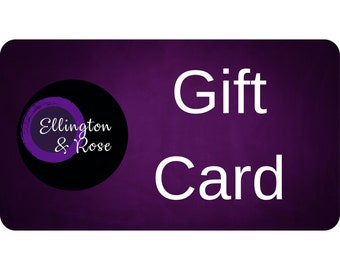 Electronic Gift Card for Ellington&Rose, Holiday Gift Card, Christmas