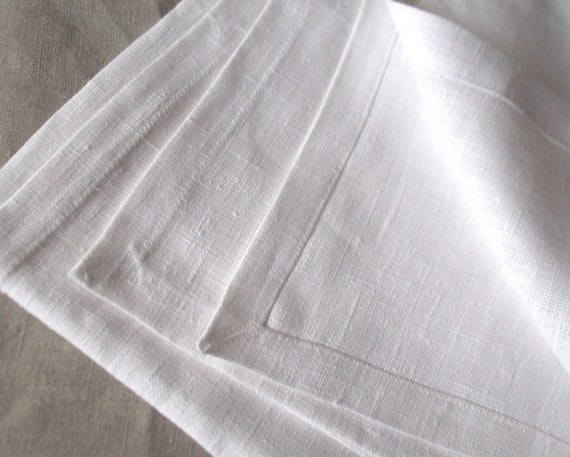 White square tablecloth ecologic pure linen table decor rustic home style wedding shower