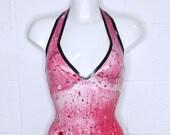 Blood Splatter Latex Dress - Pandora Deluxe