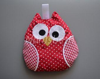 Owl cherry pillow Kirschkern-, Körnerkissen