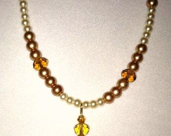 Golden Dreams necklace