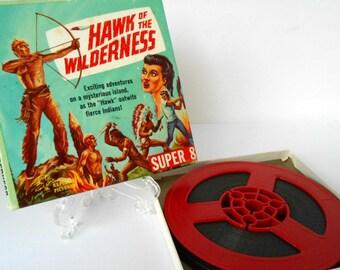 Super 8mm Movie Hawk of the Wilderness Vintage 1970's Republic Pictures/Ken Films Original Box Entertainment Family Movie Night