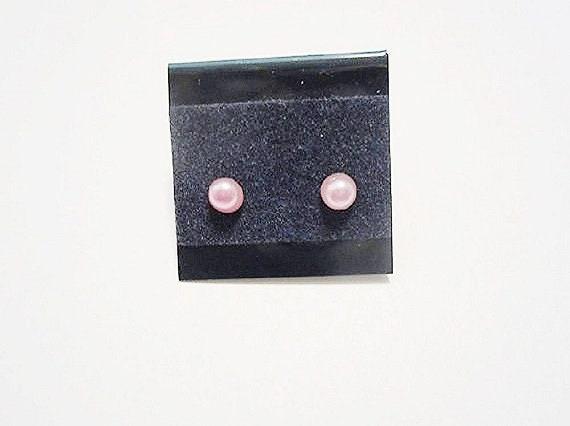 Newborn//Toddler December Birthstone Pierced Earrings