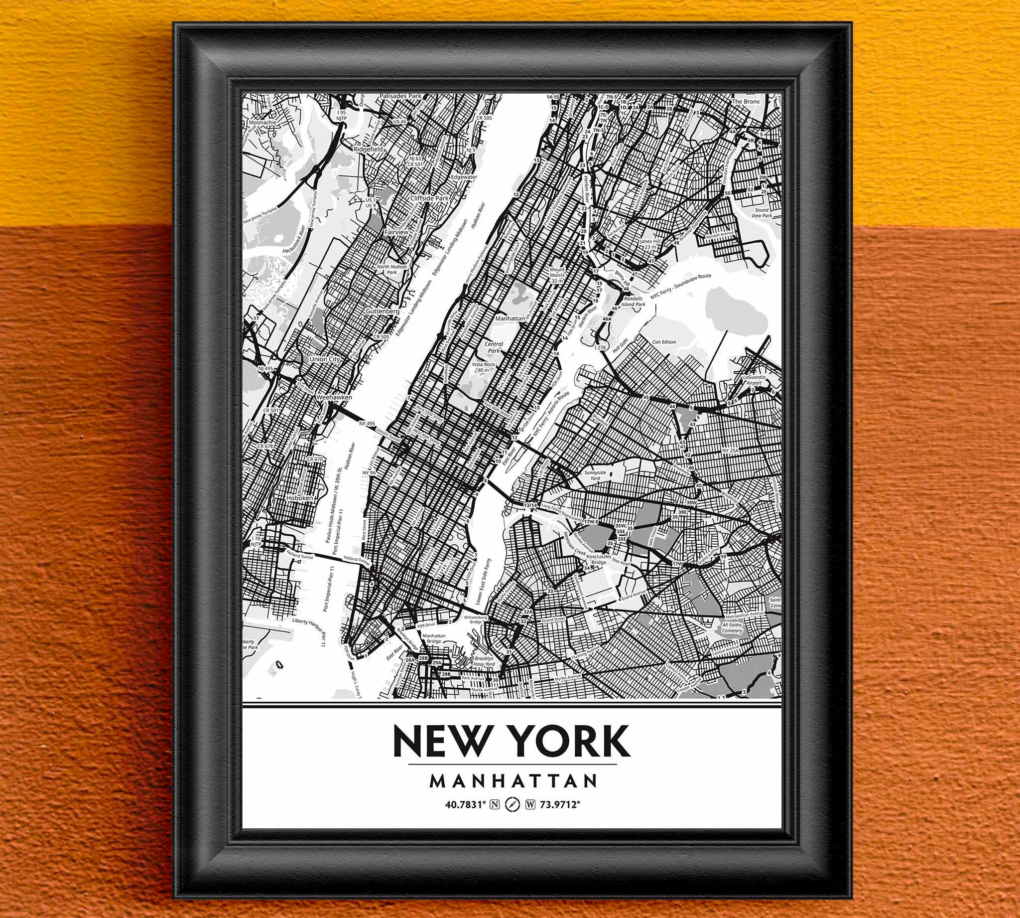 new york city central park coordinates