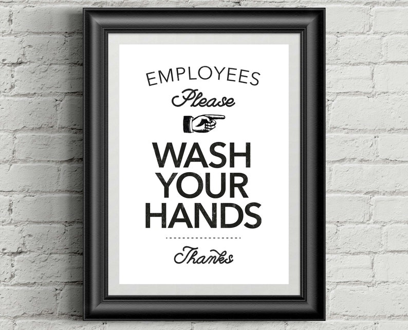 picture about Printable Hand Washing Sign called Hand Washing Signal, Hand Washing, Should really clean arms, awareness indication, business indicator, clean your arms, staff signal inspiration, staff indication