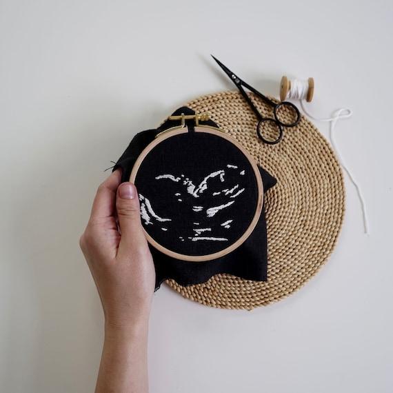 Custom 3D Ultrasound Cross Stitch Pattern \u2022 Custom nursery decor \u2022 Ultrasound embroidery \u2022 Baby shower gift \u2022 Pregnancy gift