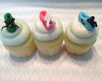 3290df2d50d6 RUNNING TENNIS SHOES - Mini Fondant Cupcake