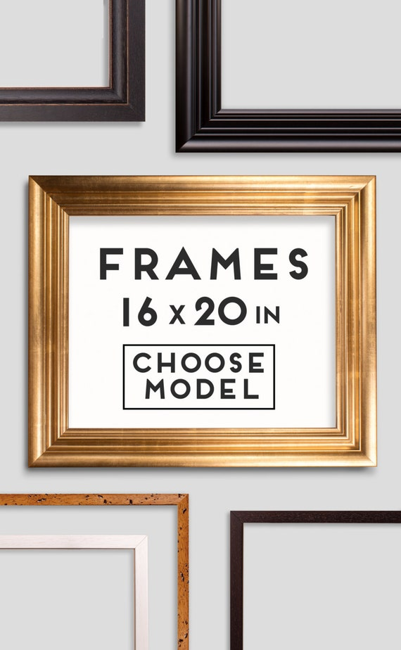 Frames for Prints 9 models Choose your frame Size 16 x | Etsy
