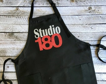 Custom Apron, Monogrammed Gifts, Restaurant, Salon, Barber Shop, Aprons, Wholesale, Bulk Order Discounts