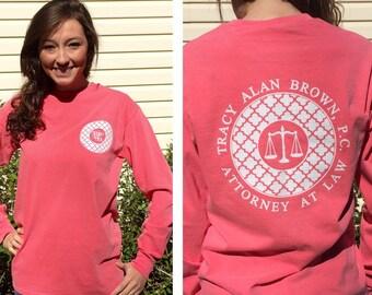 Monogram Shirts, Custom T Shirts, Business, School, Club, Logo T shirt Monogram Shirt, Monogram t shirt, Custom business tees