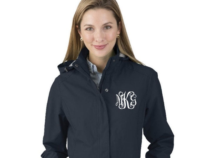Monogrammed Jacket, Charles River Women's Logan Jacket, Women's Logan Jacket, Monogrammed Coat, Favorite Things
