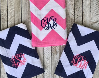 Monogrammed Beach Towels, Monogrammed gifts, Bridesmaid gifts, Monogram Beach Towel, Bridesmaid Gift, Corporate Gifts, Destination Wedding
