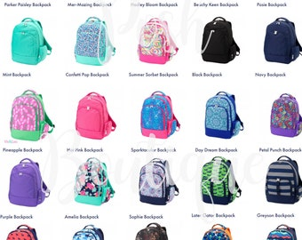 Monogrammed Backpacks, Girls Backpack, Boys Backpack, Personalized Backpack, School Backpack, Backpack for Kids