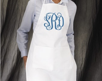 Personalized Apron, Custom Aprons for Salons, Bakery Business, Monogrammed Gifts under 20
