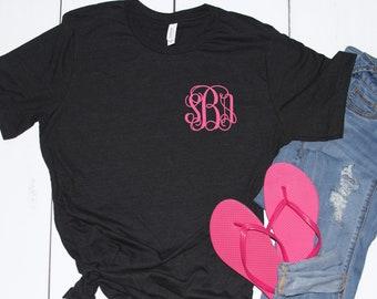 Monogrammed Shirt, Monogrammed T shirt, 10 Dollar Monogram Shirt Sale, Monogram Shirt, Girls Monogram Shirt, Ladies Monogram Shirt