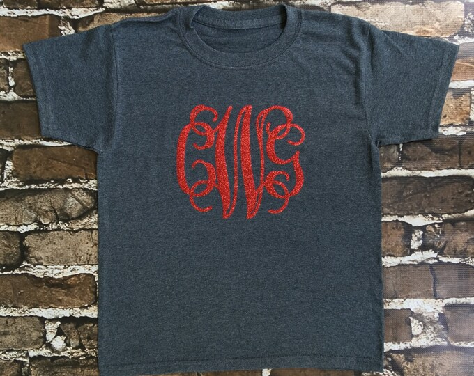 Monogram T Shirt, Monogram Shirt, Monogram tee shirts, Christmas gifts, Monogrammed Gifts, Women, Girls, Toddler
