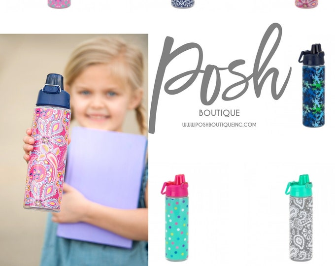 Personalized Water Bottle, Monogram Water Bottle, Monogrammed Water Bottles, Back to School 2019, BPA Free Water Bottle