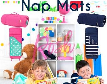 Monogrammed Nap Mats, Girls Nap Mats, Boys Nap Mats, Preschool Nap Mats, Custom Nap Mats, Personalized Nap Mats