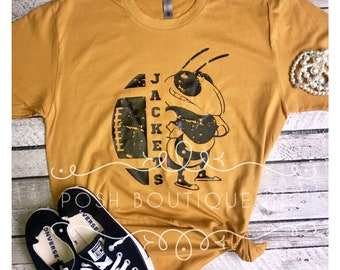 Football Tee Shirt, Custom Football Shirts, Boutique Football Shirt, Vintage Football Shirt, Custom Football Shirt
