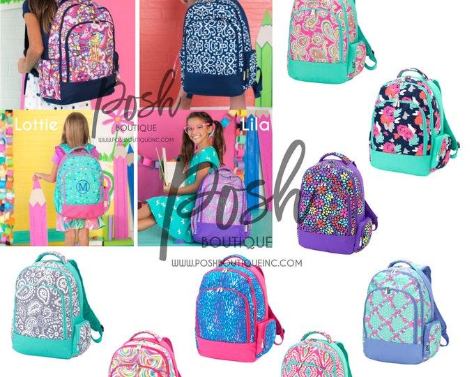 Monogrammed Backpacks, Personalized Backpacks, Back to School 2019
