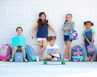Monogrammed Backpack, Book bag, Personalized Backpack, Back to School, Preppy Back to School Supplies, Boys and Girls Backpacks